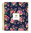 Bloom Daily Planners Academic Hard Cover Vision Planner, 7.5-Inch wide x 9-Inch Tall, Vintage Floral