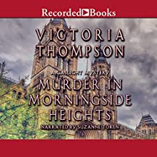 Murder in Morningside Heights Audiobook by Victoria Thompson Narrated by Suzanne Toren