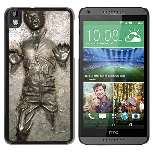 HTC Desire 816 case,Custom Han Solo Frozen In Carbonite Black HTC Desire 816 cover