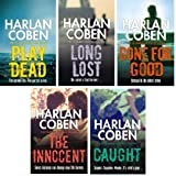 HARLAN COBEN HARLAN COBEN FIVE BOOK SET COLLECTION / LONG LOST / PLAY DEAD / CAUGHT / GONE FOR GOOD / THE INNOCENT