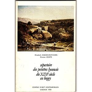 Répertoire des peintres lyonnais du XIX1 siècle en Bugey : Exposition, Centre d'art contemporain, Lacoux, 1980