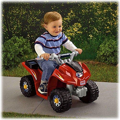 Fisher-price Power Wheels Kawasaki 6v Battery Powered Atv, Quad Power Wheels (Lil Kawasaki compare prices)