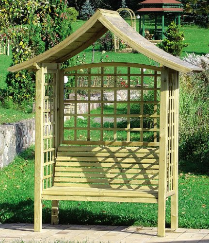 Ideal for climbing plants Japanease style garden arbor