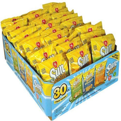 Frito Lay Sun Chips Multigrain Variety box - 30 Bags