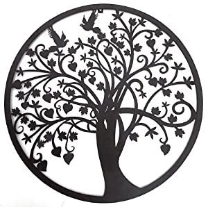 Amazon.com: Beautiful Tree of Life Metal Wall Hanging