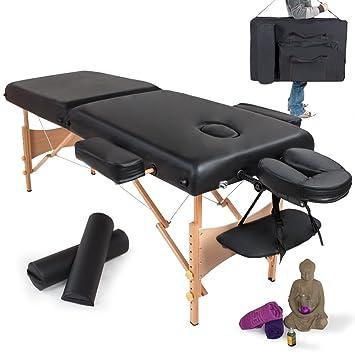 table de massage massage cosmetique lit de massage noir paisseur paisseur de coussin 7. Black Bedroom Furniture Sets. Home Design Ideas