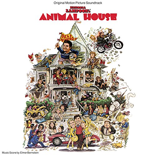 Original album cover of National Lampoons Animal House (LP) by Various Artists
