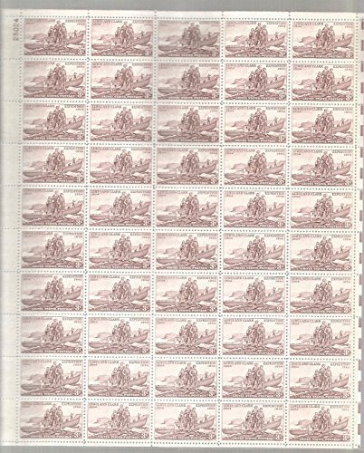 us-stamp-scott-1063-lewis-and-clark-expedition-centennial-sheet-mnh-by-usps