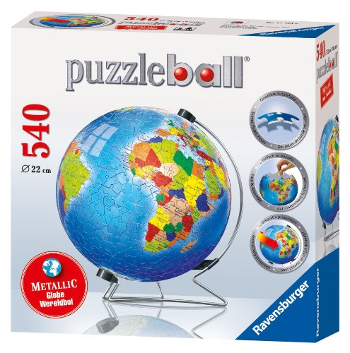 Ravensburger Metallic Earth - 540 Piece puzzleball