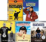 Michael Moore Pack (Bowling For Columbine/Capitalism/Fahrenheit 9/11/Canadian Bacon/Sicko)(5 Pack)