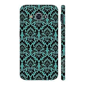 Enthopia Designer Hardshell Case Blue Motive Back Cover for Samsung Galaxy J3 Pro