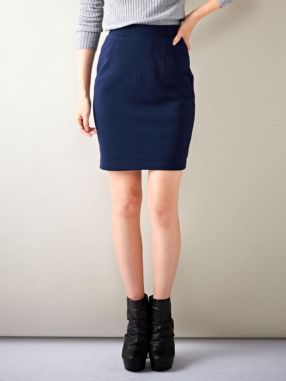 Amazon.co.jp: (ニューリーミー)Newlyme タイトミニミディアムミモレスカート1229: 服&ファッション小物