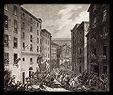 WallsnArt ''Revolt In Genoa'' Synthetic Paper Painting (41 cm x 46 cm x 6 cm)