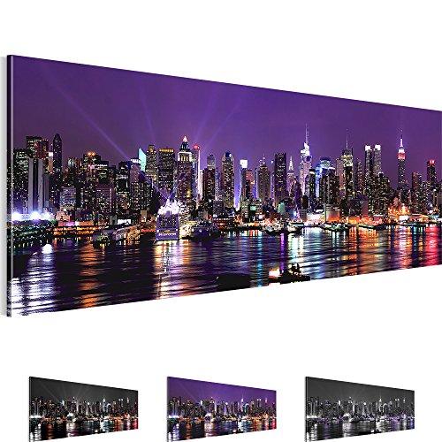bilder sensationspreis bild 100 x 40 cm new york ny wandbild 3 farben zur auswahl. Black Bedroom Furniture Sets. Home Design Ideas