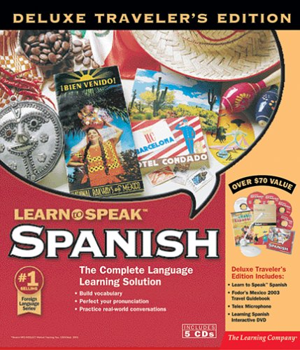 Learn to Speak Spanish Deluxe Traveler's Edition 2003