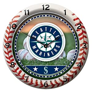 MLB Seattle Mariners Game Time Clock by WinCraft