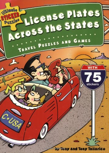 Ultimate Sticker Puzzles: License Plates Across the States:Travel Puzzles and Ga - Tony Tallarico