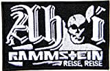 RAMMSTEIN REISE REISE Metal Rock Punk Music Band Logo Jacket T shirt Patch Sew Iron on Embroidered Badge Sign Costum