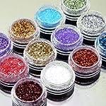 FACILLA® 12pcs Color Glitter Dust...