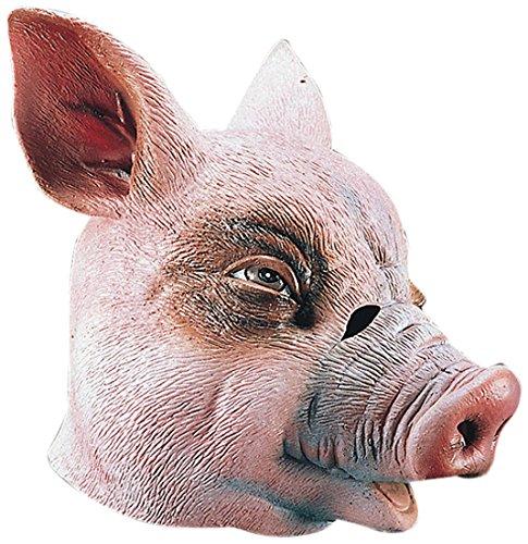 Gnrique-MA1009-Masque-Adulte-Cochon-Complet-Latex-Taille-Unique