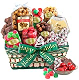 Golden State Fruit Seasons Greetings Christmas Treats Basket