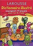 echange, troc Natacha Diaz - Dictionnaire Illustré : Espagnol, CP-CE1, 5-7 ans (CD audio inclus)