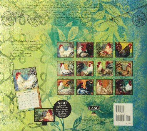 Bohemian Rooster 2014 Calendar