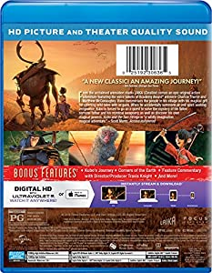 Kubo and the Two Strings (Blu-ray + DVD + Digital HD) from Universal Studios Home Entertainment