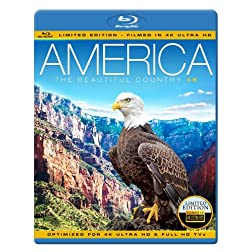 AMERICA - THE BEAUTIFUL COUNTRY [Blu-ray]