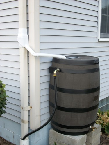 Oatey 14209 mystic rainwater collection system for Build your own rain collection system