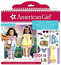 American Girl Paper Doll Fashion Stylist Set