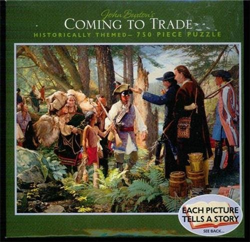 "John Buxton's ""Coming to Trade"" 750 Piece Puzzle"