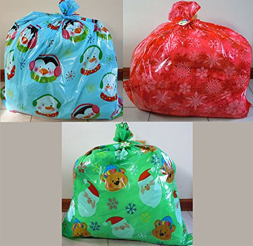 Set of 3 Gift Bags Jumbo/Giant/XLarge 36