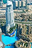 Aerial View of Dubai United Arab Emirates UAE Journal: 150 page lined notebook/diary