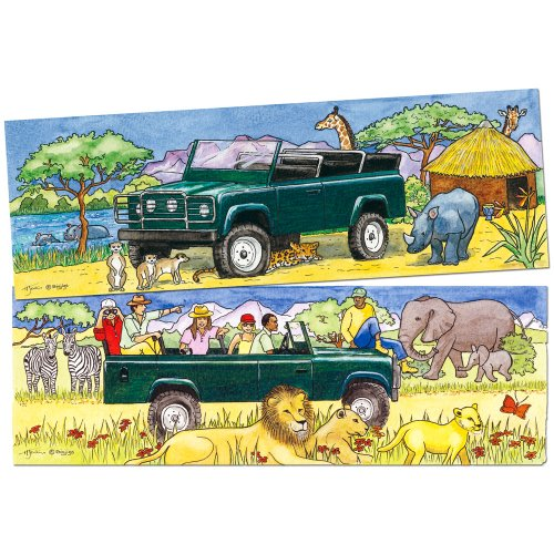 Bigjigs Toys Duo Safari Jigsaw Puzzle