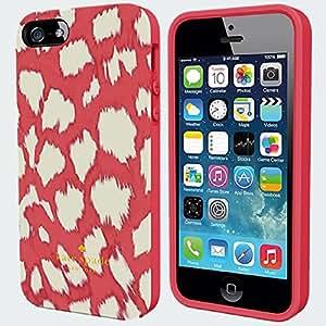 Kate Spade New York 'eKat Leopard' Flexible Hardshell Case for iPhone 5/5s