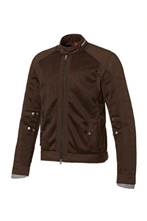 Tucano 8940MF020CB5 mARLON mesh urbano veste coupe-vent amovible, et inner showerproof lining chocolate brun taille l