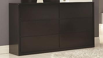 Dresser in Espresso Finish by Coaster Furniture