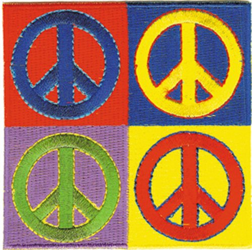 Application Peace Skull Patch