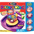 RoseArt Pottery Wheel with Clay, Tools and Paint, Packaging May Vary