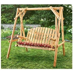 CASTLECREEK 2 - person Log Swing by CASTLECREEK