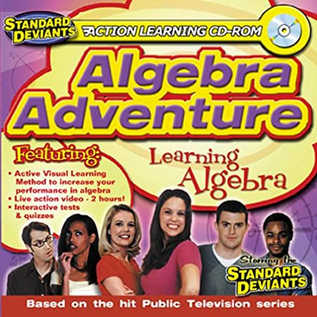 Algebra Adventure (Jewel Case)