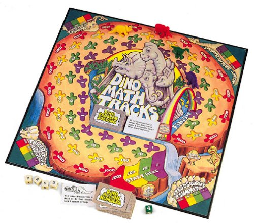 Math games Dino Math tracks gifts for kids