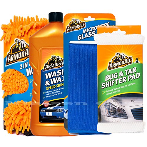 armorall-wash-mitt-wash-wax-1l-microfibre-glass-cloth-bug-tar-pad-pro41
