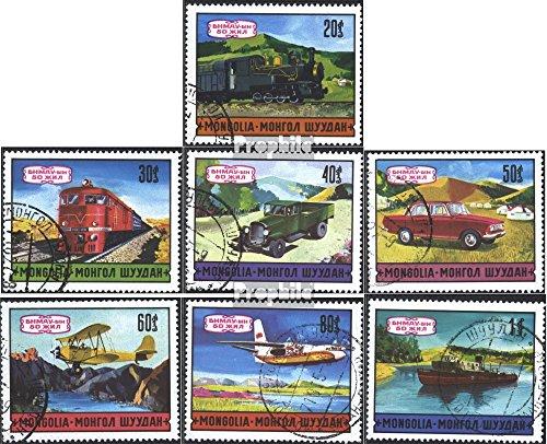 Mongolei 643-649 (kompl.Ausg.) gestempelt 1971 Verkehrsmittel (Briefmarken für Sammler)