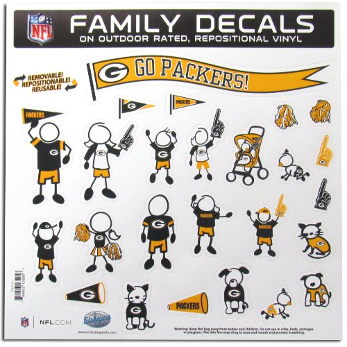 NFL General Sporting Goods Large Family Decal Set