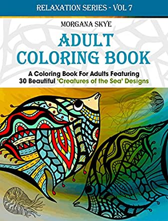 Adult coloring book coloring book for adults featuring 30 Coloring books for adults on amazon