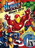 Marvel Heroes Blast Off! Wall Clings (0794420494) by Marvel