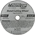 RotoZip RZMET2 2 Pack Metal Cut-Off W...