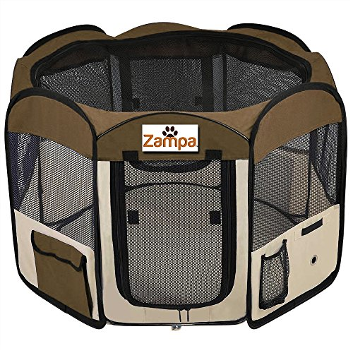 Pet Playpen Foldable Portable Dog/Cat/Puppy Exercise Kennel